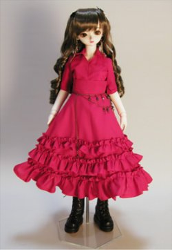 画像2: SD女の子用イタリアンカラーのシャツの型紙