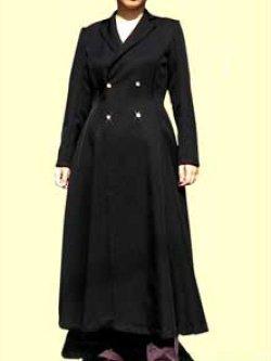 画像3: Wボタンのテーラードカラーのコートの型紙レディース