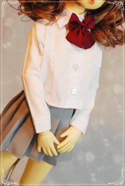画像1: SD女の子用 Yシャツの型紙