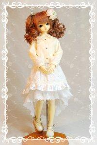 SD女の子用 2段変形スカートの型紙