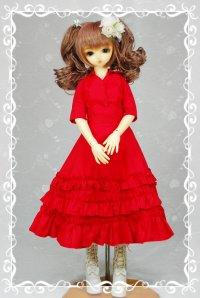 SD女の子用イタリアンカラーのシャツの型紙