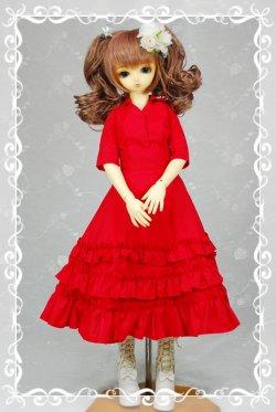画像1: SD女の子用イタリアンカラーのシャツの型紙