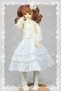 SD女の子用 フラットカラーブラウスの型紙