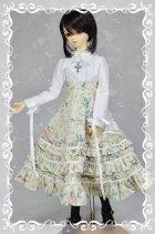 他の写真1: SD13女の子用 3段フリルハイウエストスカートの型紙