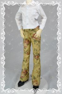 SD男の子用 ブーツカットパンツの型紙