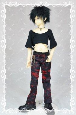 画像1: SD13男の子用ラウンドネックTシャツの型紙