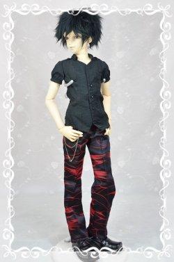 画像1: SD13男の子用 ストレートパンツの型紙