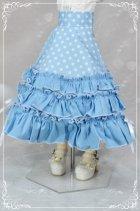 他の写真1: MSD女の子用 3段フリルハイウエストスカートの型紙