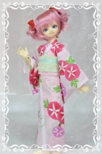MSD女の子用 単衣着物(浴衣など裏地のないタイプ)の型紙