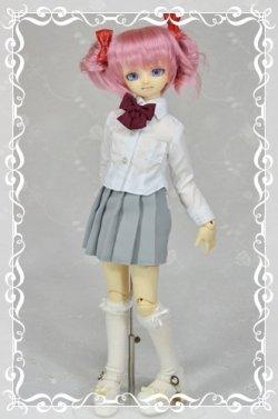 画像1: MSD女の子用 プリーツスカートの型紙