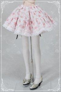 DD M胸(DDII,III)、SD、SD13女の子用裏つきギャザースカートの型紙