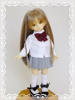 画像1: 幼SD女の子用Yシャツの型紙