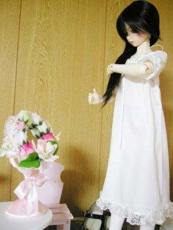 画像1: SD/SD13(L胸) 女の子用 ロングワンピースの型紙