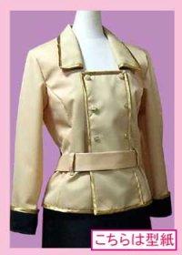 【無料】コードギアス アッシュフォード学園女子制服などに使えるジャケットの型紙