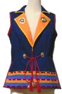 【無料】陣羽織風テーラードカラーのジャケット「お試し」