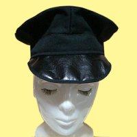 軍帽風帽子の型紙 軍・官服系のコスプレに、ライブの衣装などに