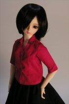 他の写真1: SD女の子用イタリアンカラーのシャツの型紙