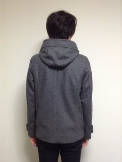画像2: ダッフルコートの型紙紳士 【委託商品】