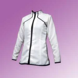 画像2: 細身のハイネックのジャケットの型紙 レディース