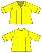 他の写真3: SD女の子用イタリアンカラーのシャツの型紙