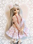 他の写真2: DD M胸(DDII,III)、SD、SD13女の子用裏地つきのギャザースカート
