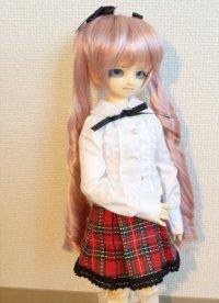 MSD女の子用 ボックスプリーツスカートの型紙