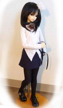 画像1: SD13女の子用 ボックスプリーツスカートの型紙