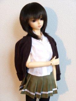 画像2: SD13女の子用 プリーツスカートの型紙