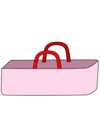 ピアニカバッグの型紙
