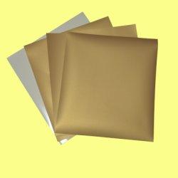 画像1: アイロンでくっつく布用金・銀シール