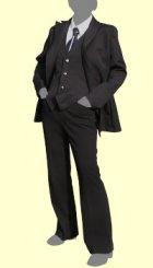 他の写真1: 男性キャラクターの雰囲気を出したい女性の為の男装用Wボタンのテーラードジャケットの型紙 レディース