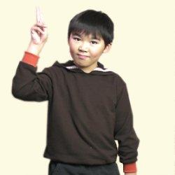 画像1: 【無料】130サイズ子供パーカーの型紙