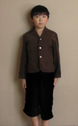 画像1: テーラードカラージャケットの型紙(130サイズ)