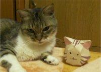 ネコのぬいぐるみ(ヘッドのみ)の型紙