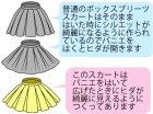 他の写真3: 二次元シルエットの広がるボックスプリーツスカートの型紙【委託商品】