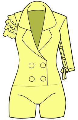 Tokyo 7th シスターズのジェダ・ダイ ヤモンドの衣装の作り方