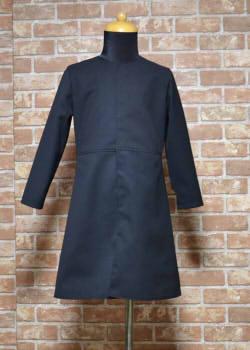 ウエスト切り替えのコートの型紙(110〜120サイズ向け)