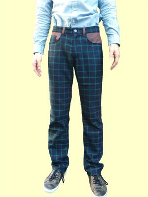 紳士用長ズボンの型紙