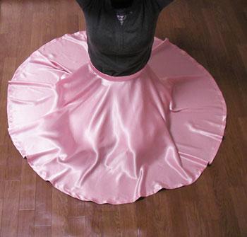 全円スカートの型紙