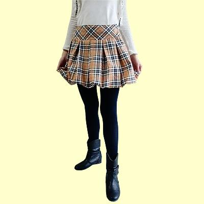 バルーンスカートの型紙
