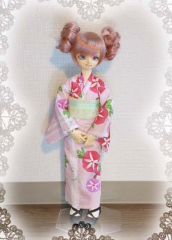 画像2: MSD女の子用 単衣着物(浴衣など裏地のないタイプ)の型紙