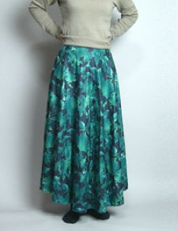 画像2: 半円ファスナースカートの型紙(ウエストベルトタイプ)