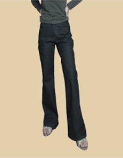 画像1: 脚長効果、カジュアルに 美脚パンツの型紙 レディース