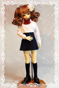 SD女の子用 ボックスプリーツスカートの型紙