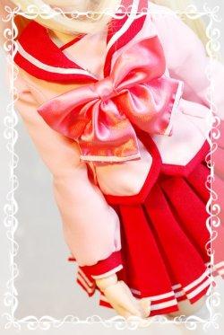 画像1: リボンとヘッドキャップのセット型紙