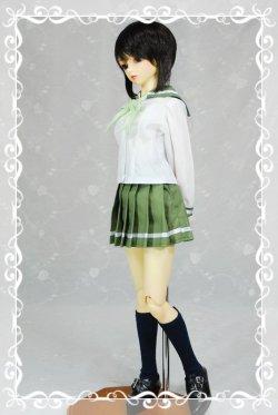 画像1: SD13女の子用 セーラーカラーブラウスの型紙