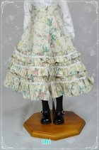他の写真2: SD13女の子用 3段フリルハイウエストスカートの型紙