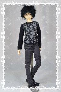 SD13男の子用 スキニーパンツの型紙