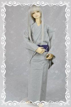 画像1: 単着物の型紙 青年用