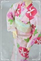 他の写真1: MSD女の子用 単衣着物(浴衣など裏地のないタイプ)の型紙